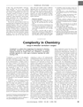 Complexity in Chemistry