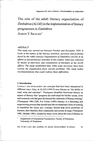 The role of the adult literacy organization o