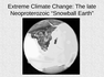 Extreme Climate Change