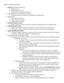 Exam 2 Accounting 2 Outlines