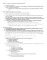 Chapter 17 Outlines