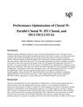 Performance Optimization of Clustal W