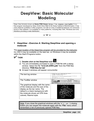DeepView - Basic Molecular Modeling