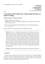 A Net-Present Value Analysis for a Wind Turbine