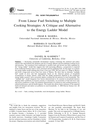 From Linear Fuel Switching to Multiple Cooking Strategies