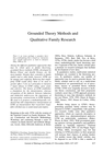 Grounded Theory 1