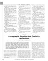 Postsynaptic Signaling and Plasticity Mechanisms