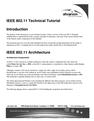 IEEE 802.11 Technical Tutorial