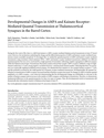 Developmental Changes in AMPA and Kainate Receptor- Mediated Quantal Transmission at Thalamocortical