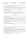 Recitation 4 Problems