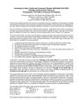Family and Consumer Studies 5400 syllabus