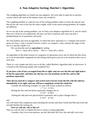 Non-Adaptive Sorting: Batcher's Algorithm