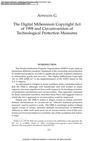The Digital Millennium Copyright Act of 1998