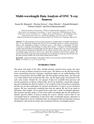 Multi wavelength Data Analysis of ONC X-ray Sources