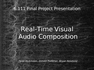 Real-Time Visual Audio composition