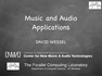 Music and Audio Applications