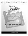 iMovie Basics