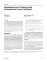 Characteristic Performance Curve Fan Model