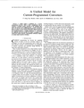 A Unified Model for Current-Programmed Converters
