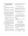 Practice Exam Questions and Solutions for Final Exam