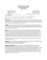 AST 301 Syllabus