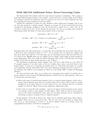 Additional Notes: Error-Correcting Codes