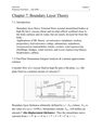 Chapter 7 - Boundary Layer Theory