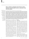 Water, sanitation, and hygiene interventions to reduce diarrhoea in less developed countries
