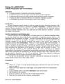 Cellular Respiration and Fermentation