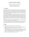 Application Development Project